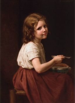 Soup by William-Adolphe Bouguereau