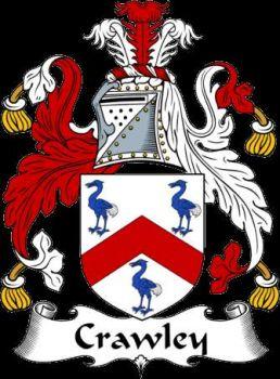 Crawley Crest Flag