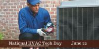 Today Is National HVAC Tech Day!!