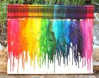Melted-crayon-rainbow