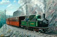 Fairlie Locomotive on Ffestiniog Railway