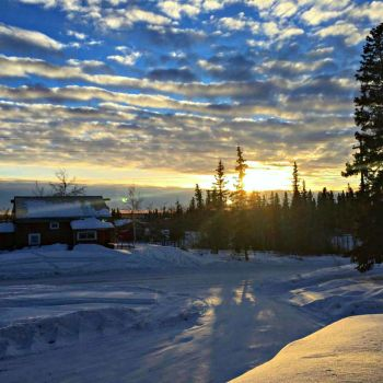 Fort-Yukon-Alaska-March sunset-2016-2000