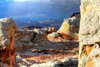 Rock formations in Vermilion Cliffs National Monument, Arizona