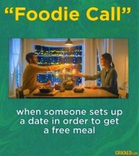 14 Social Phenomena Terms (Oh, That's What It's Called) - #11 - Foodie Call