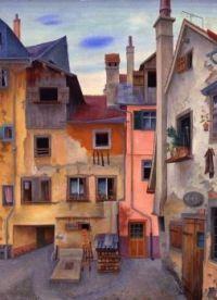 """"""" Old Houses in Lindau"""""""