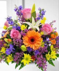 Happiness is.... Gorgeous Mixed Arrangement.