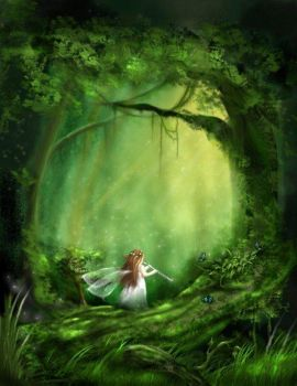 little fairy of the forest
