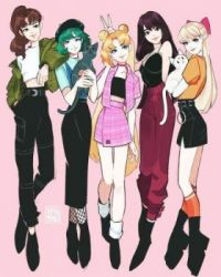 Sailor Scouts casual