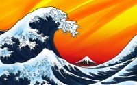 The Great Wave of Kanagawa fan art