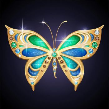 gold-butterfly-glamour-shiny-jewelry