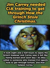 15 Movie Moments That Took Way More Work Than You Probably Thought - Jim Carrey as The Grinch
