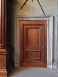 Door inside The Biltmore House