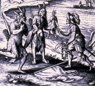Beothuk Trade with John Guy - Nov 6, 1612 - Sunnyside, NL