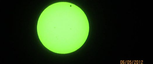 My picture of Venus crossing the sun