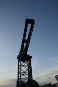 Dockside crane...Glasgow