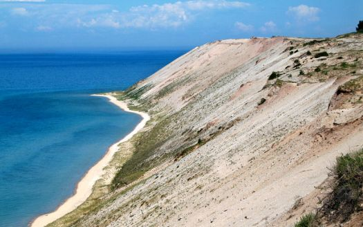 Bluffs on South Manitou Island