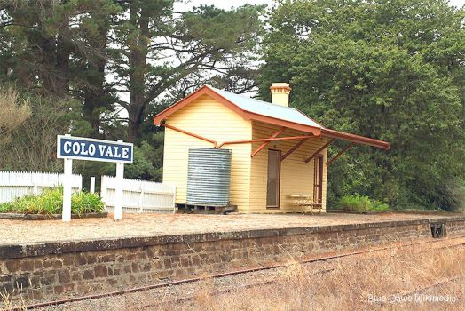 Colo Vale Railway station NSW