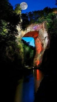 Natural Bridge, VA First discovered by George Washington when he was surveying as a young man
