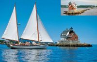 Theme Lighthouses: Rockland Breakwater, Maine