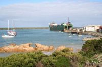 Searoad Mersey at Grassy Harbour, King Island