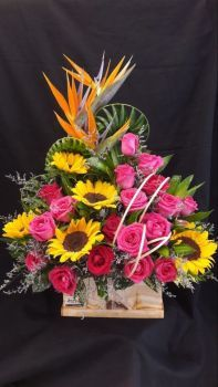 Happiness is.... Boxed Floral Arrangement