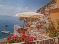 View of Positano from terrace