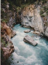 Johnston Canyon, Kootenay NP, Canada