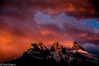 Bow Valley, Alberta, Canada by Noel Rogers