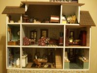 the Bird Carvers dollhouse 2