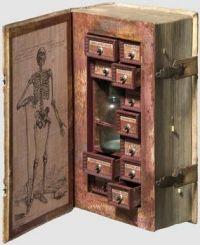 old medicine box