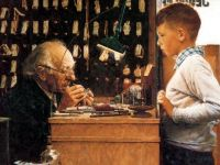 Norman Rockwell - The watchmaker of switzerland