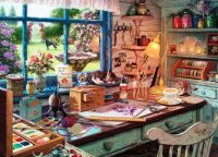 Grandma's craft shed (easy)