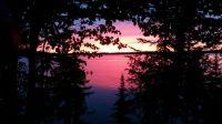 Sunset at Wabigoon, Ontario