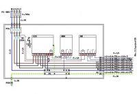 Zapojení HDS a Elektroměrové skříně HT