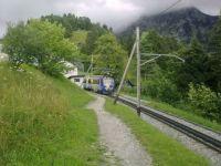 Gare de Caux (Suisse)