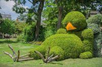 Sleeping Bird Topiary