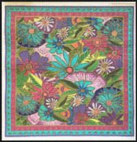 Laurel Burch print on fabric