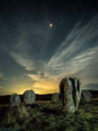 """Mars over Duddo Stone Circle"""