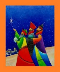 Three Wise Men by Val Stokes