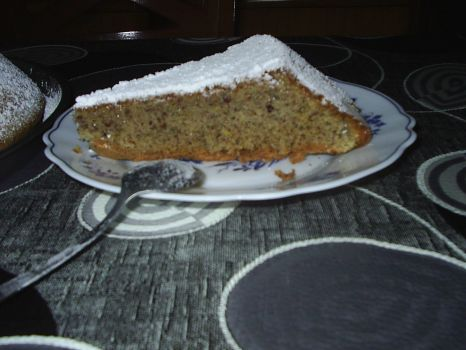 Almond cake for celiacs