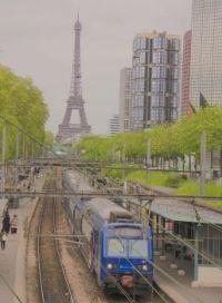 Paris commuter