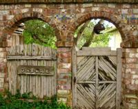 What treasures could be found behind these gates..