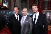 Hiddleston, Branaugh and Hemsworth.