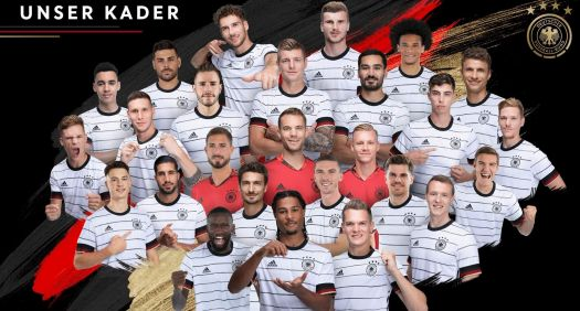 Unser DFB Team bei der EM 2020