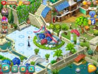 Gardenscapes Flower boat