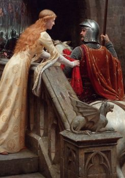 Edmund Blair Leighton's 'God Speed' - 1852-1922