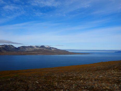 View from Barentsburg, Svalbard