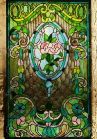 2505605-Beautiful-stained-glass-window-Stock-Photo