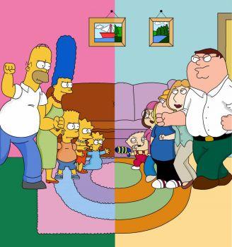 Simpsons v Family Guy