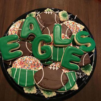 Eagles cookies